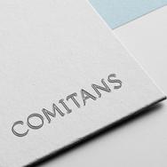 Création graphique du logo Comitans