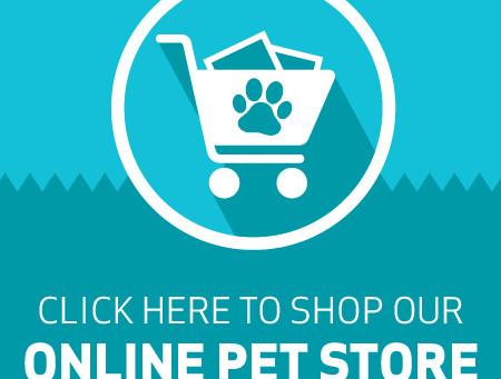 Shop our online pet store!