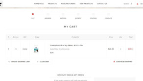 Step by Step How to check out using online store