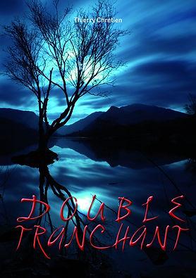 Première de couverture du roman double tranchant.