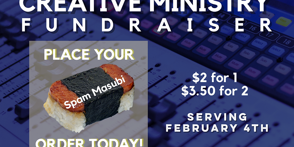 Creative Ministry Fundraiser