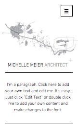Portfolio website templates – Portfolio Architekt