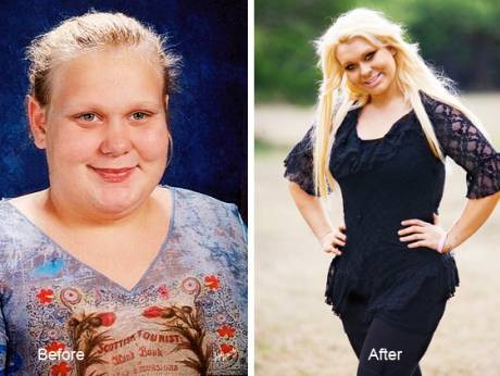 Brooke Bates: Before and After