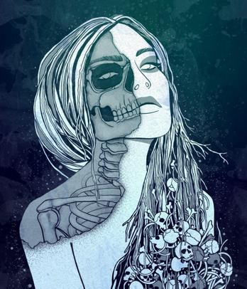 The Goddess of Death and the Under World, Hel