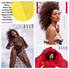 Indya Moore: Elle Magazines First Trans Cover Model