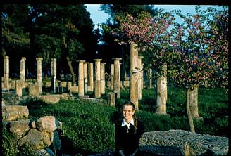 1958 στην Ολυμπία - In Ancient Olympia