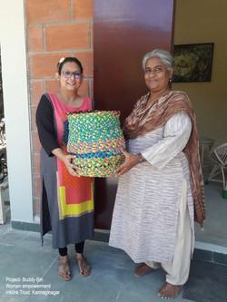 KFI school with Jayashree Nambiar Princi