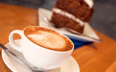 Coffee and Cake Selection