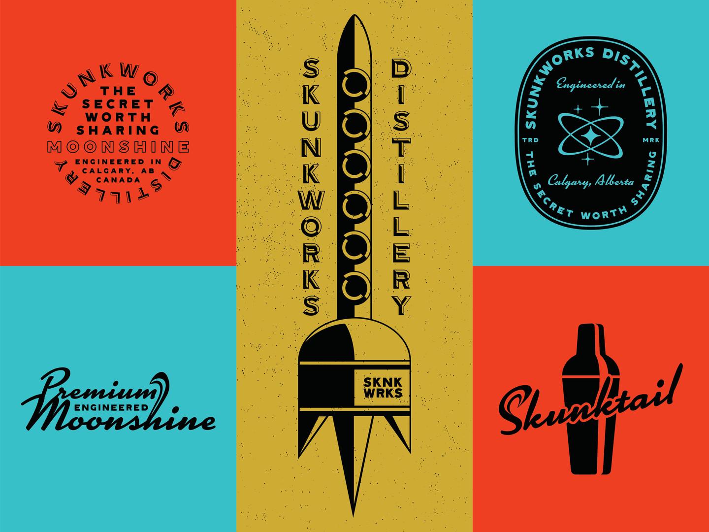 Skunkworks Badges & Elements