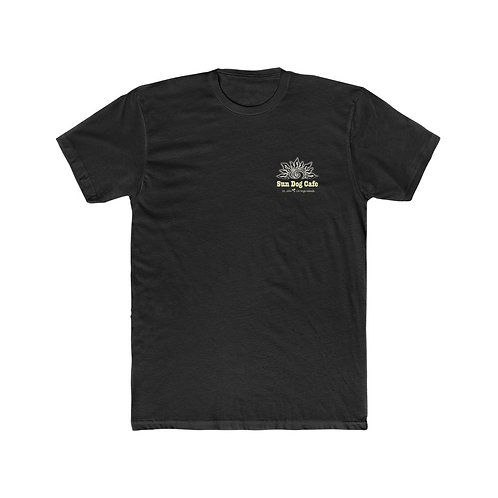 "Sun Dog Cafe ""Dogfight"" Men's Next Level Cotton Crew Tee"