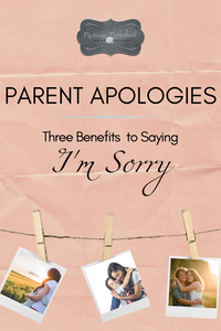 Don't miss out on the benefits of apologizing to your kids.