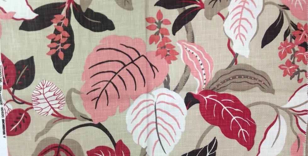 Pink & Gray Tropical Botanical