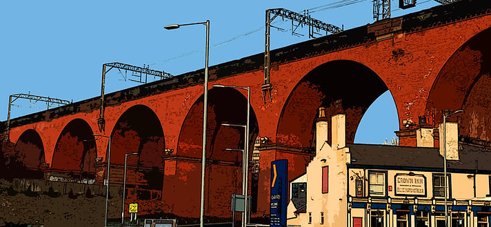 Stockport Railway arches Skolithos