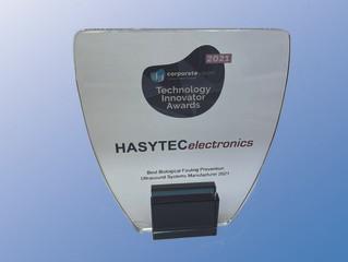 Hasytec gewinnt Technology Innovator Award