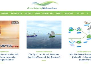 Beitrag auf GreenShipping Niedersachsen