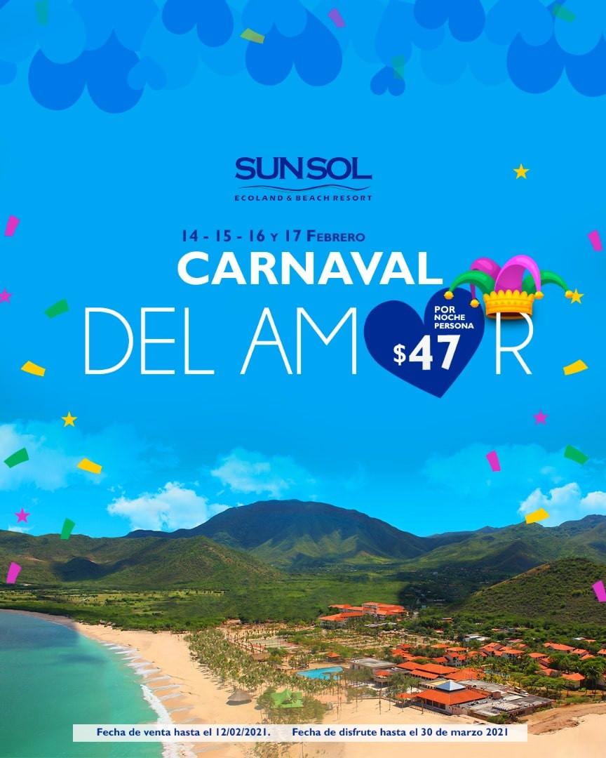 sunsol ecoland carnavales isla de margar