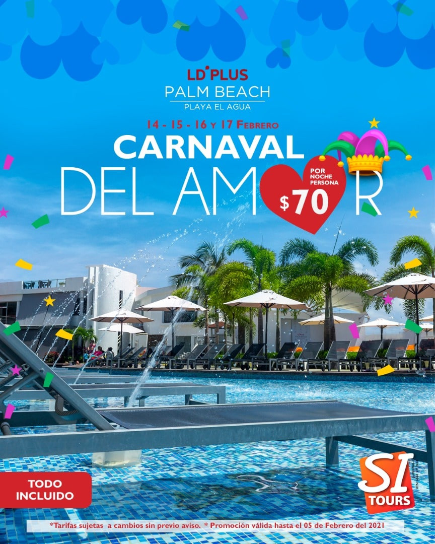 ld plus palm beach carnavales isla de ma
