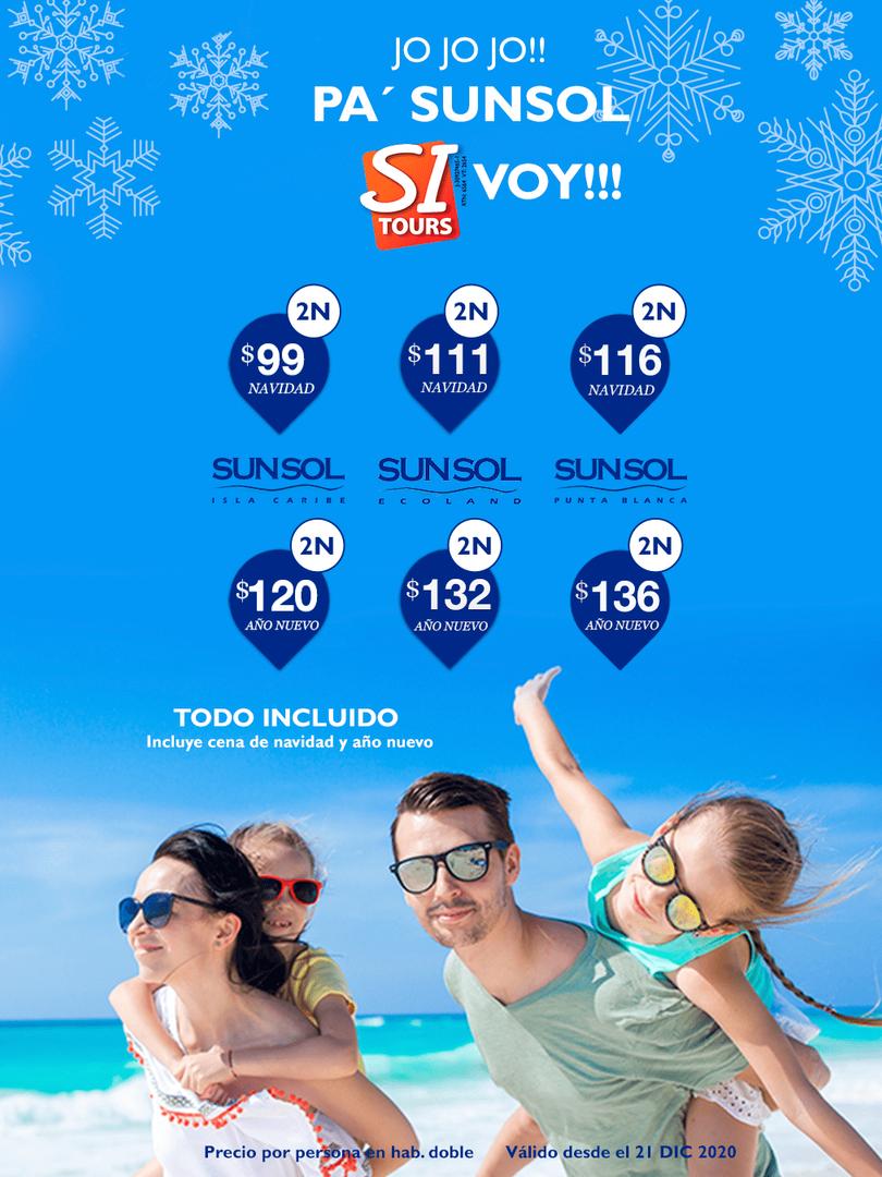 Navidad en Sunsol Hoteles