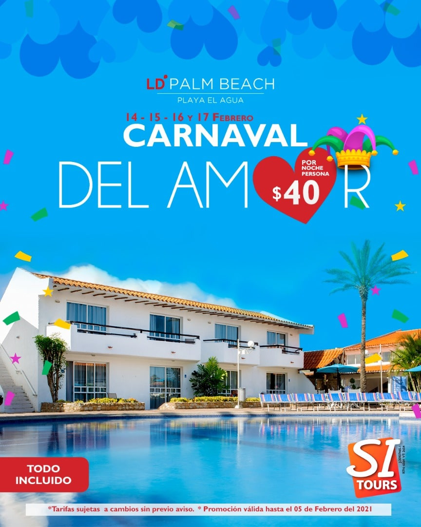 ld palm beach carnavales isla de margari