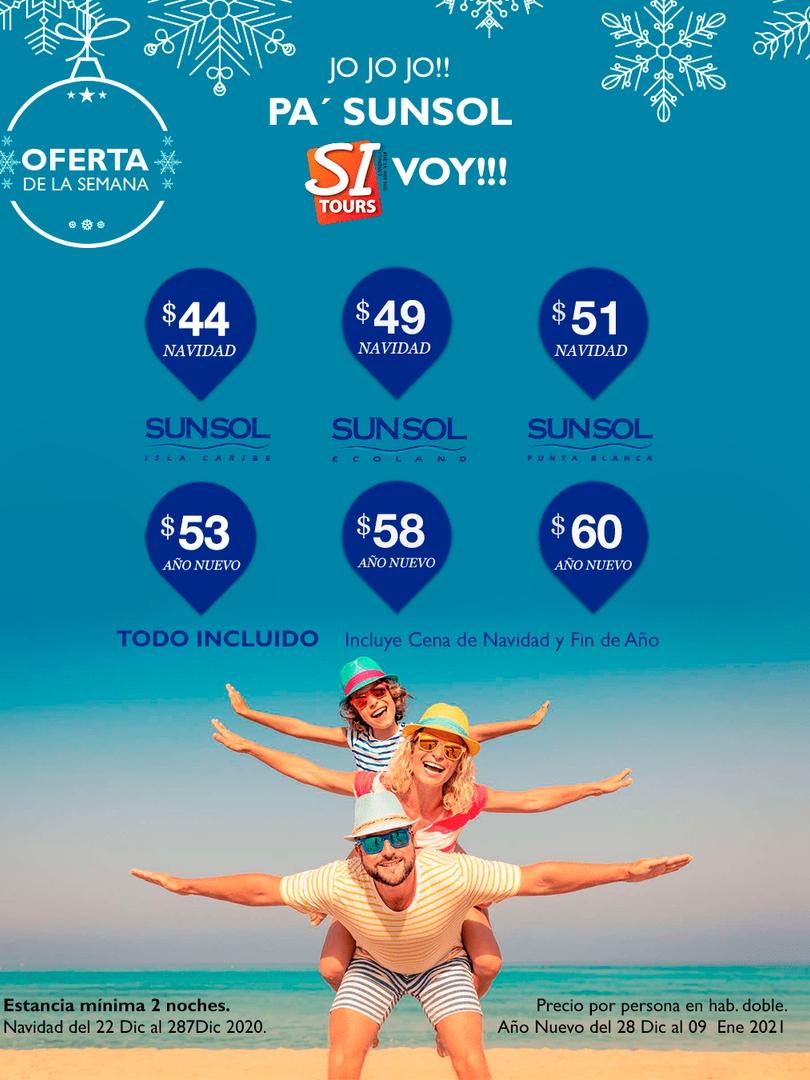Sunsol Hoteles oferta de la semana