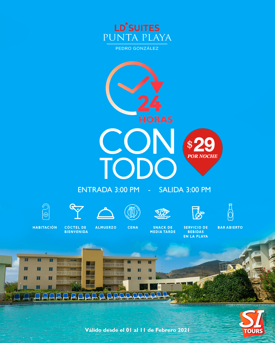 24 Horas LD Suites Punta Playa
