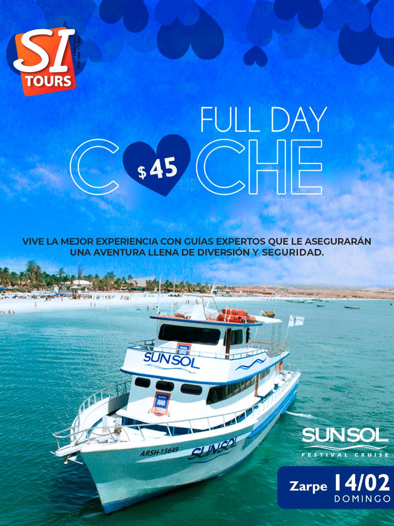 Full Day Isla de Coche Sunsol Festival