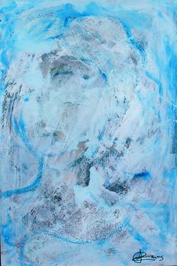 Dama en azul