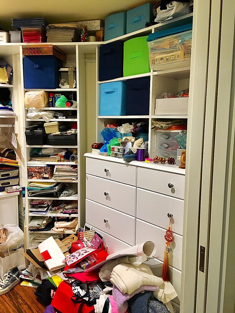 Before Closet Photos