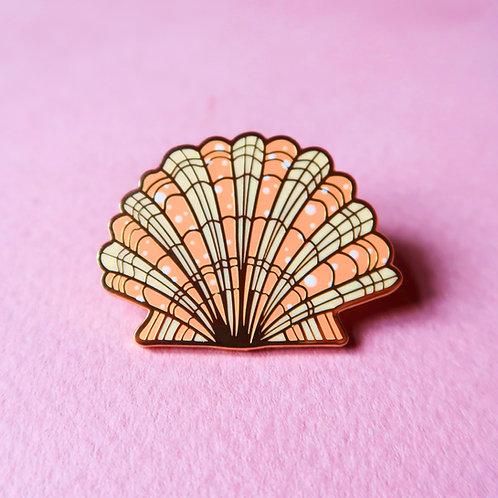 Sea Shell Enamel Pin