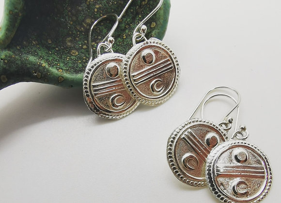 Sun & Moon Sterling Silver
