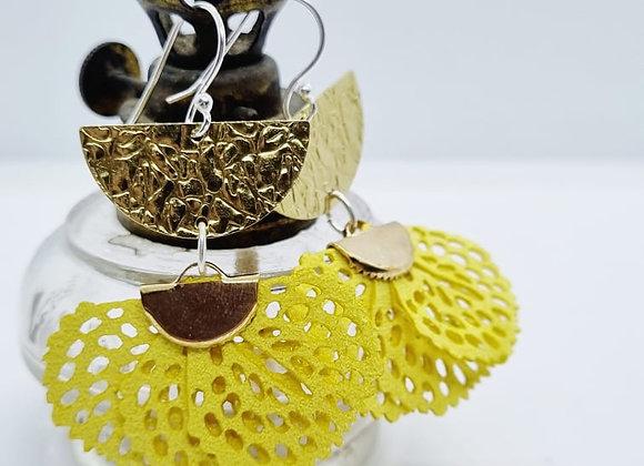 Buttercup Brass Fan