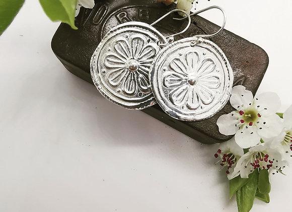 Blossom Sterling Silver Earrings