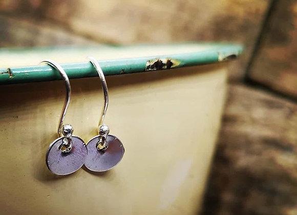 Itty Bitty Tiny Dot Earrings
