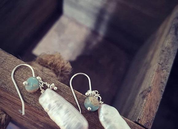 Fresh Water Pearl & Agate