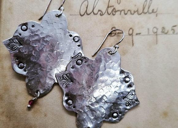 Sterling Silver Boho Earrings