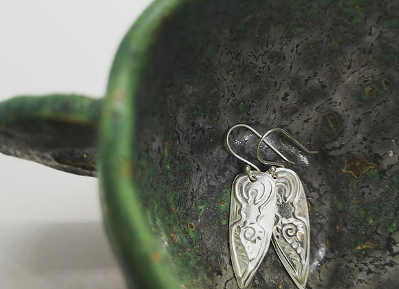 Goddesses Solid Sterling Silver Drops