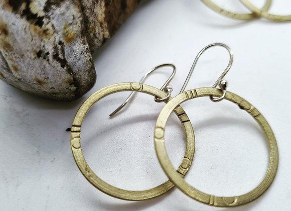 Ring of Brass Earrings