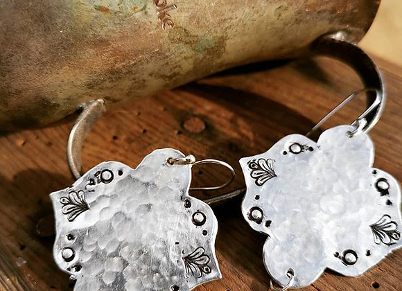 Sterling Silver Boho Earrings