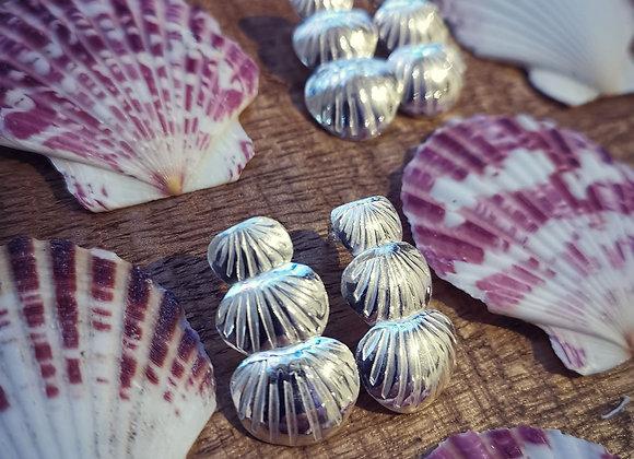 She Sells Sea Shells Sterling Silver Earrings