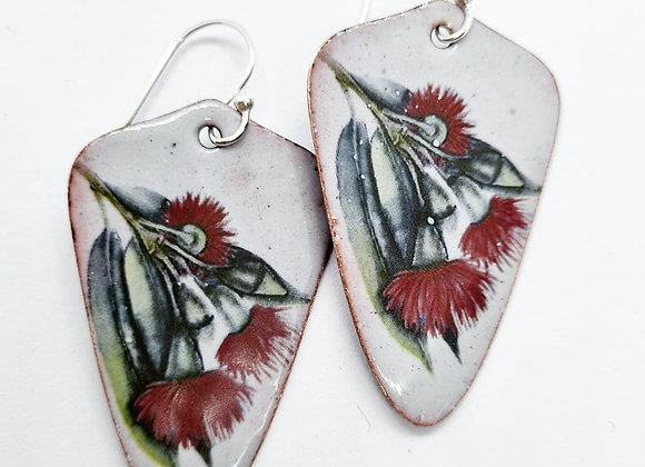 Australiana Enamel Earrings