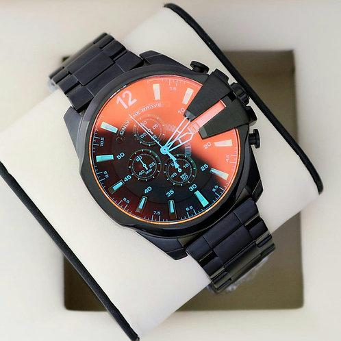 Diesel Mens Black Watch