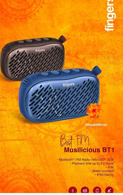FINGERS Musilicious BT1 Speaker