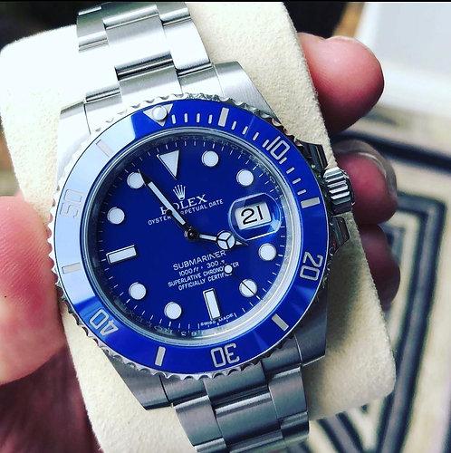 RolexSubmariner Blue