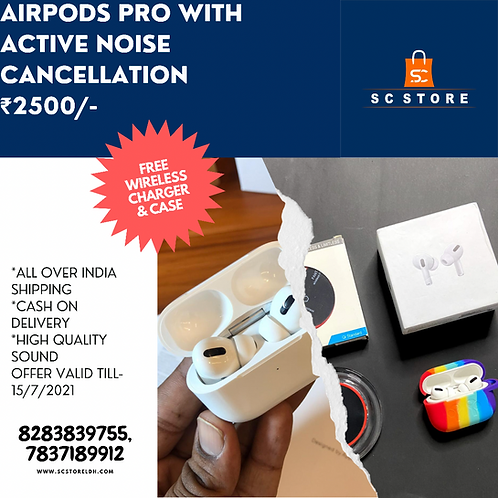 AIRPODS PRO ANC WORKING USA