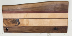 SOLD PB#352 Live Edge Cutting Board $130