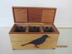 SOLD PB#103 $110  Large Blue Bird