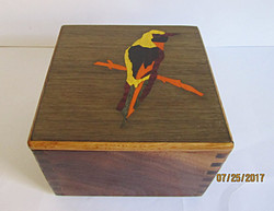 SOLD Bird Inlay #1