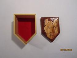 SOLD PB#237 Wolf Box