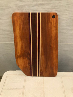 SOLD PB#318 Cutting-Board Live Edge $70