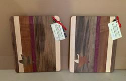 PB#425 & PB#426 Cutting Board Maple Leaf Inlaid$45 each